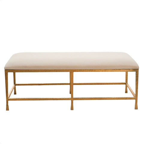 Studio A Quad Pod Bench Gold Leaf 7.80429