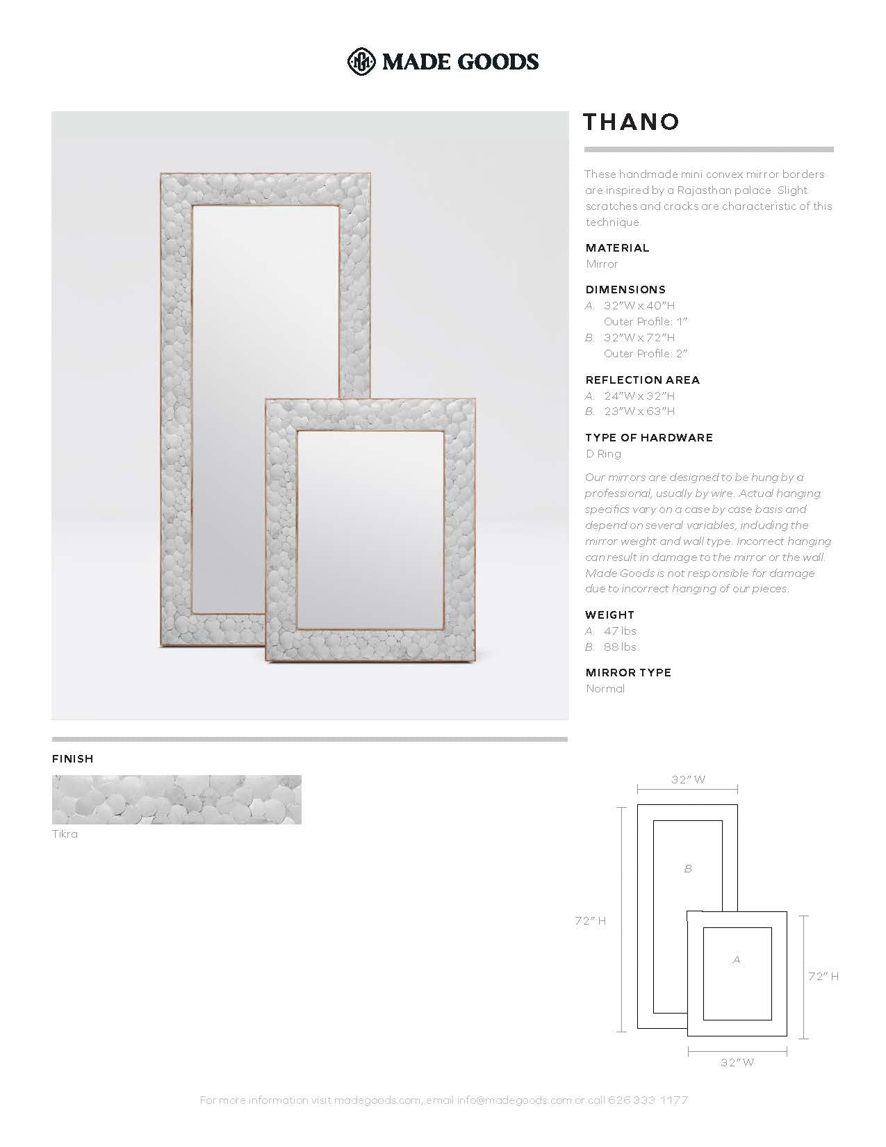 Made Goods Thano Mirror Tearsheet
