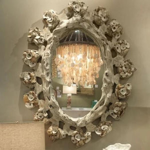 Made Goods Talulah Wall Mirror in White