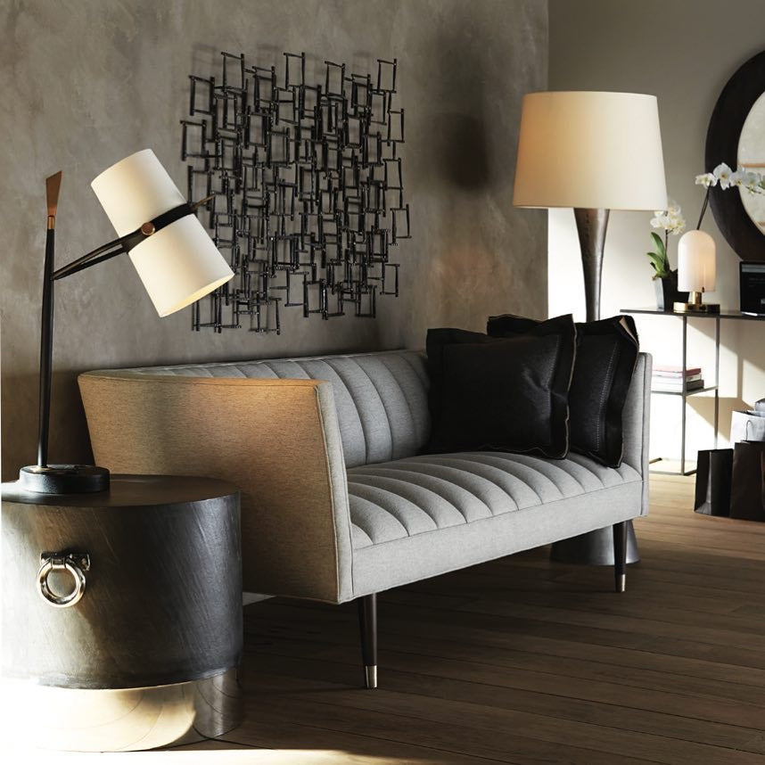 arteriors yasmin table lamp showroom living room