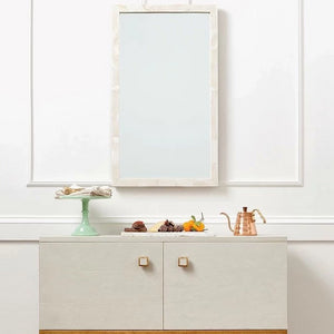 made goods colette wall mirror rectangle dining room