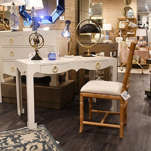 bungalow 5 aubrey side chair natural desk showroom