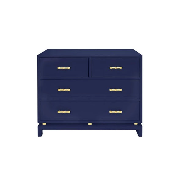 worlds away declan chest  dresser navy drawers storage