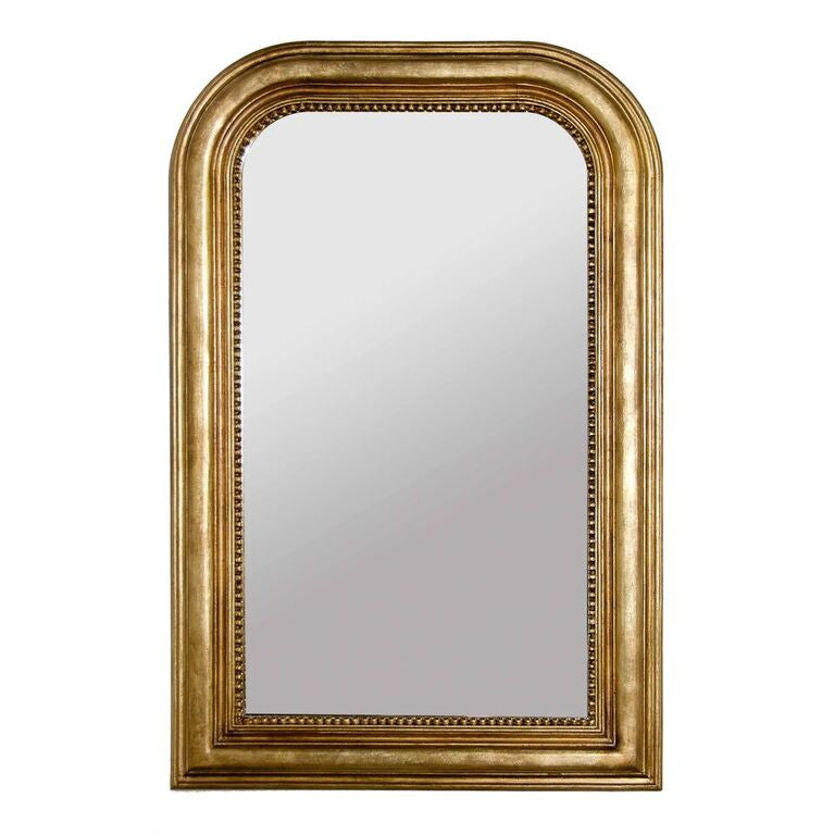worlds away waverly mirror gold leaf hand crafted