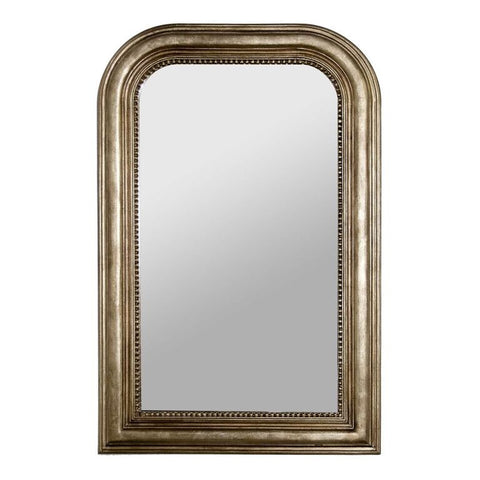 worlds away waverly mirror silver leaf hand crafted
