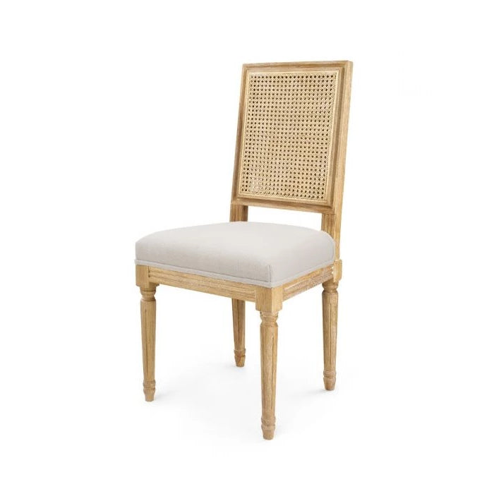 Bungalow 5 Annette Side Chair Natural Upholstered Seating