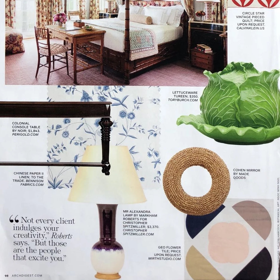architectural digest magazine cohen mirror design picks