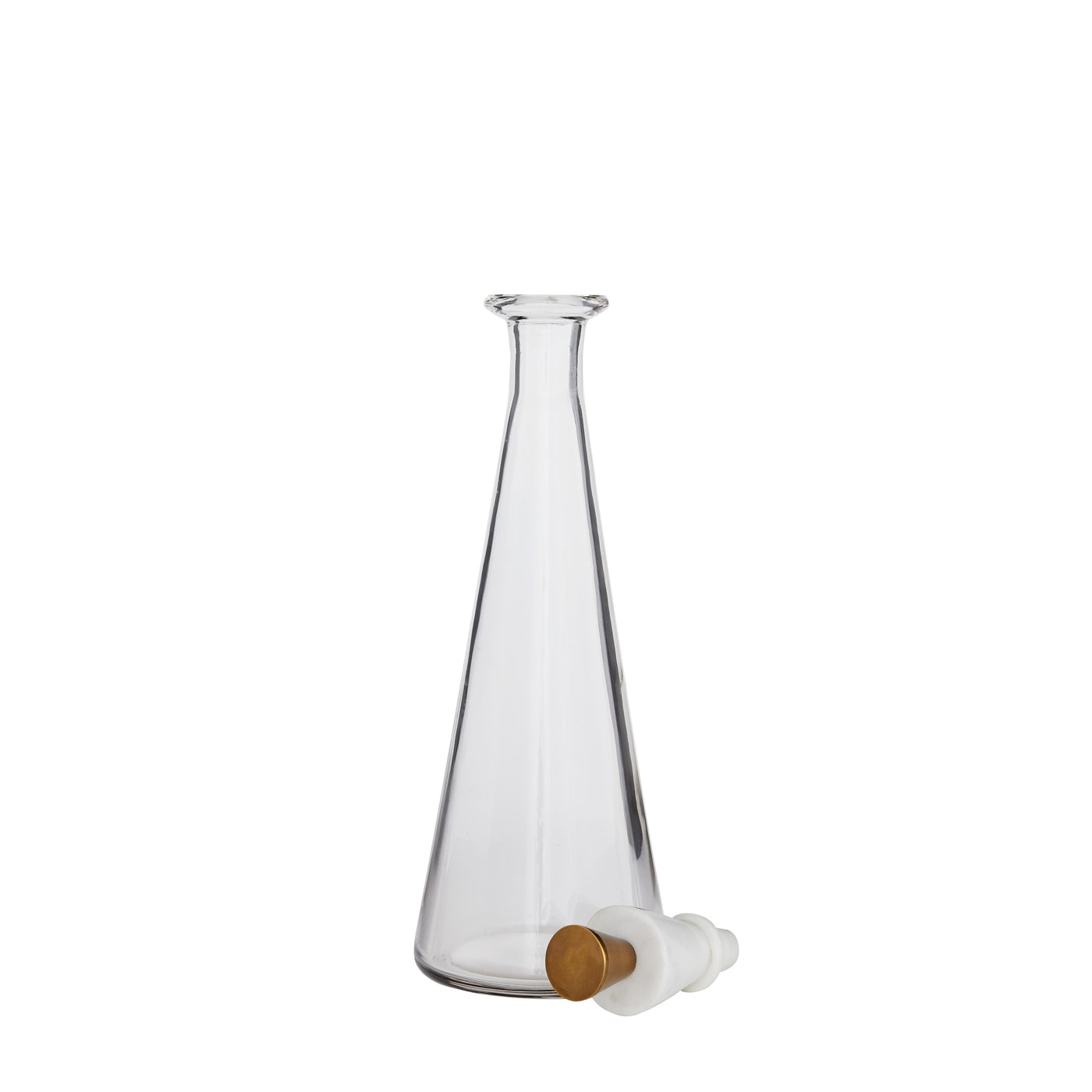 arteriors home Wilshire decanter set top off