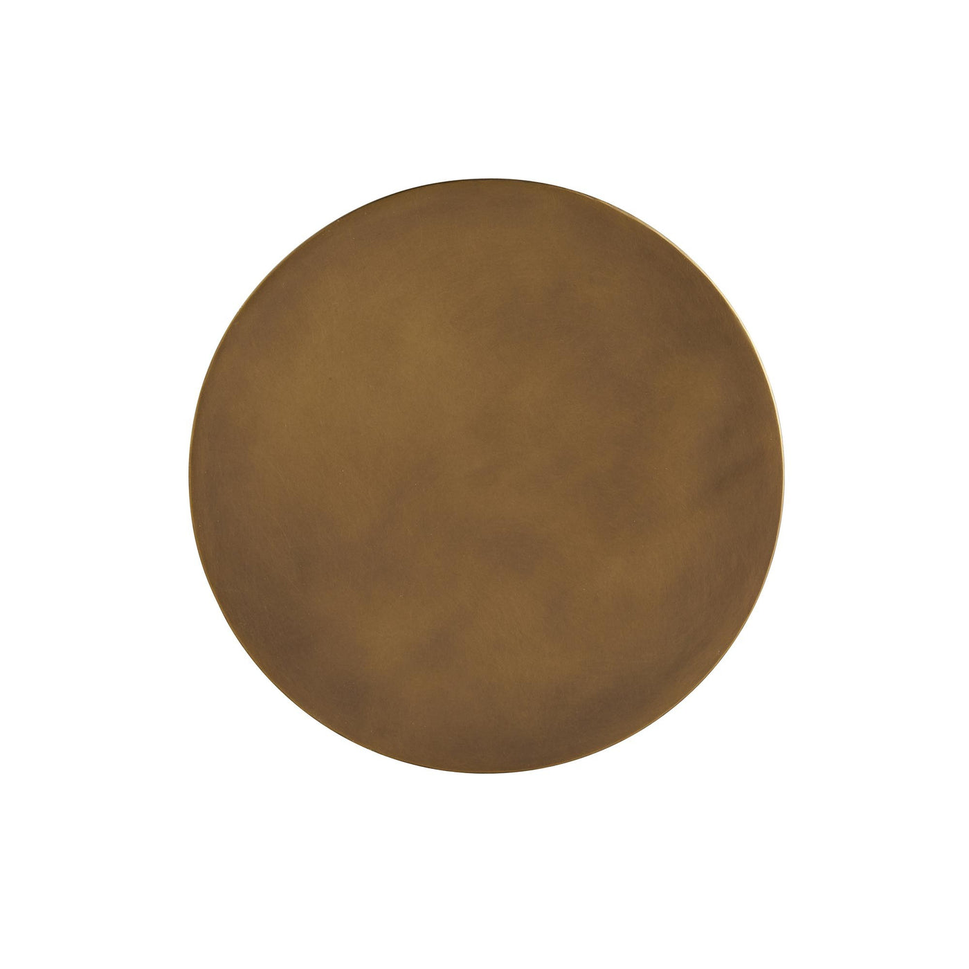 arteriors Addison accent table round brass top