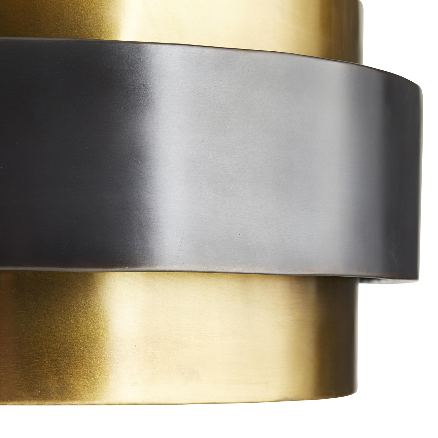 arteriors nolan gold black up close metal