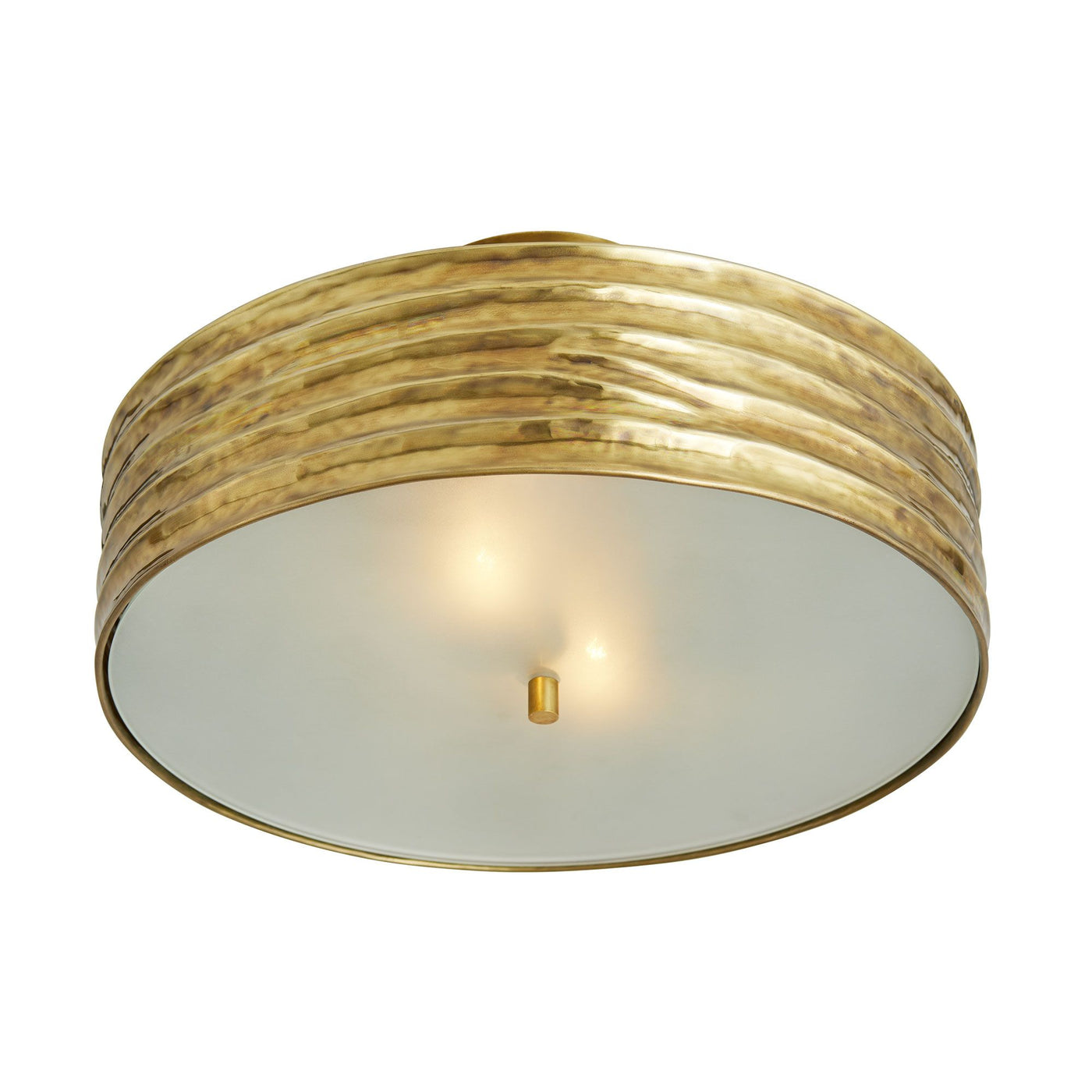 arteriors anna semi flush mount bottom illuminated