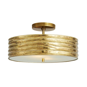 arteriors anna semi flush mount illuminated