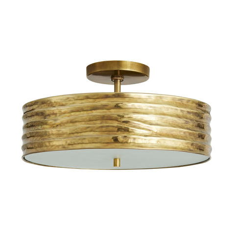 arteriors anna semi flush mount