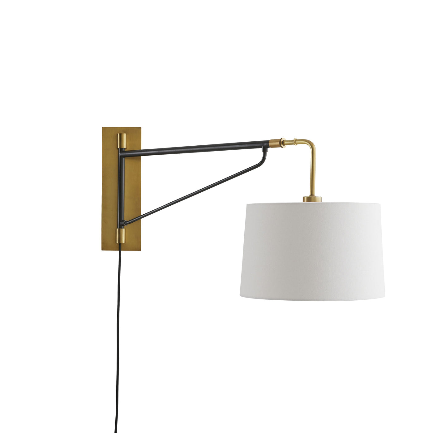 arteriors anthony sconce side view angle
