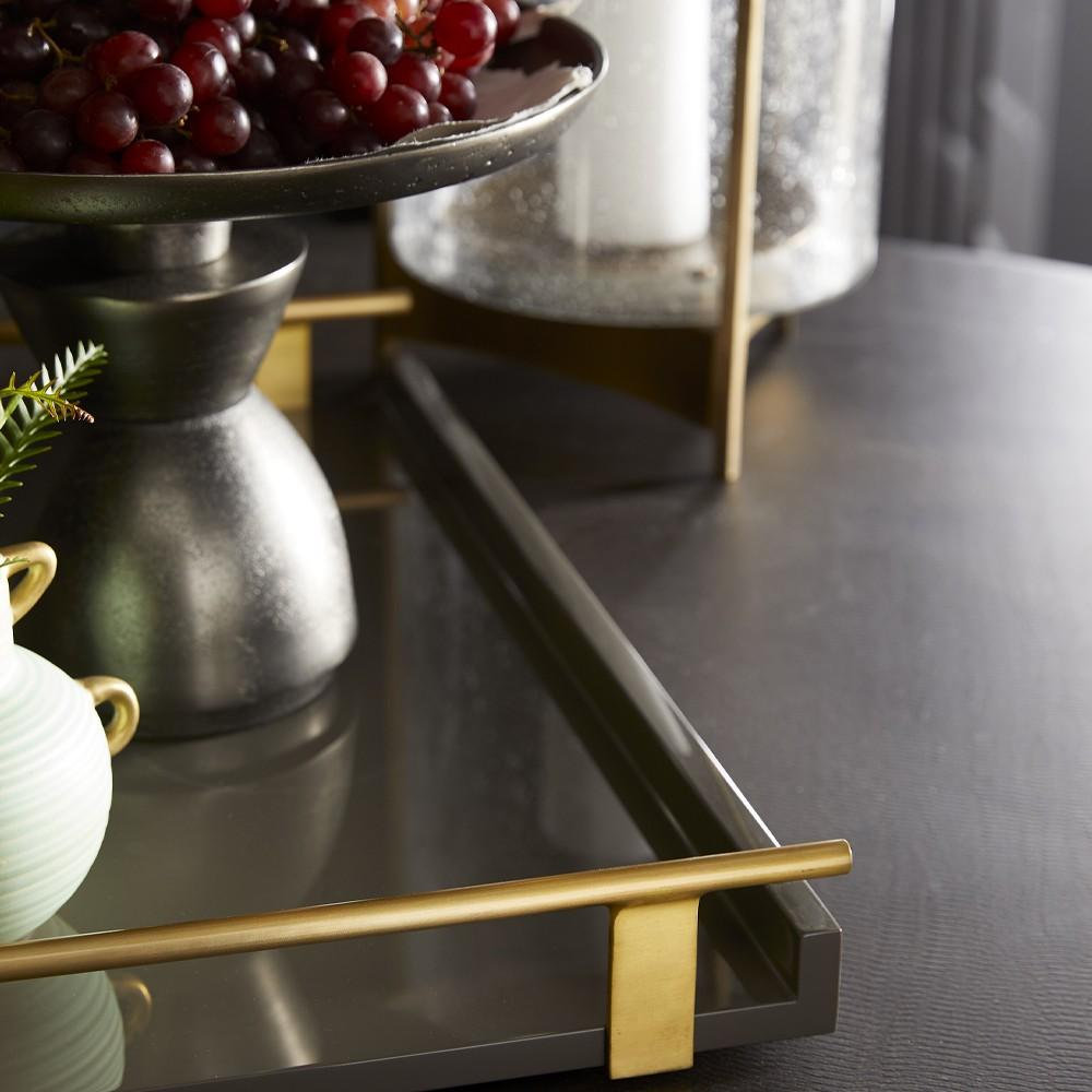 arteriors archer tray styled