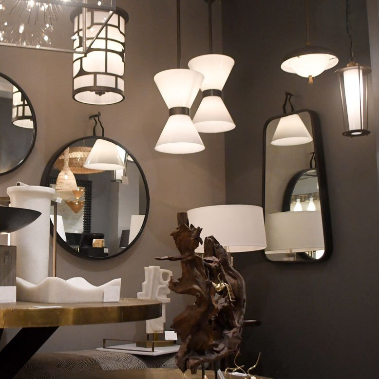 arteriors autero mirror showroom wall rectangle