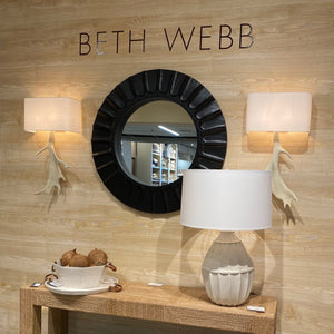 arteriors blake mirror market photo