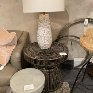 arteriors boyden side table showroom