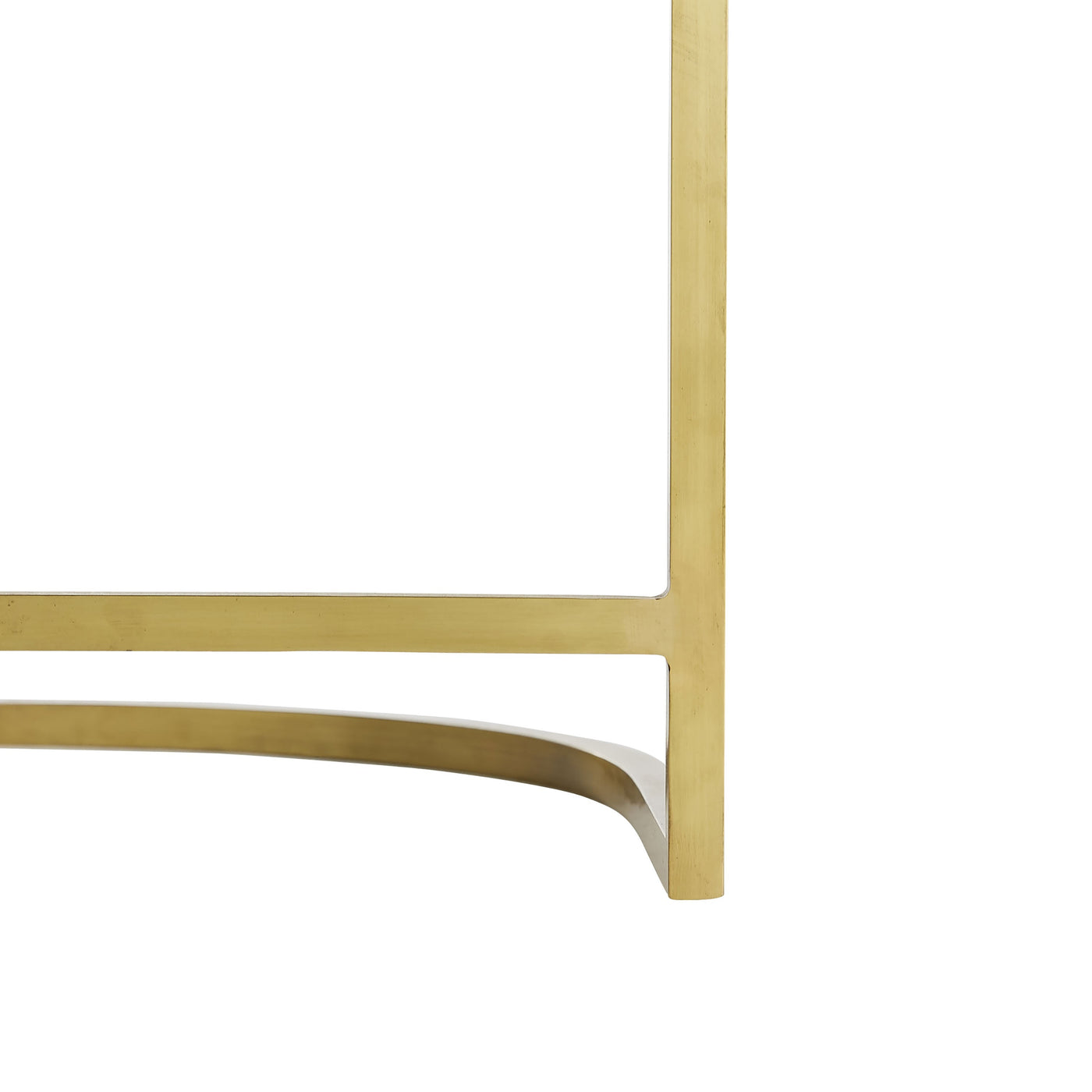 arteriors calvin counter stool muslin and antique brass base