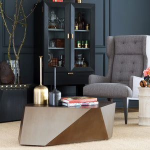 arteriors chaka side tables styled