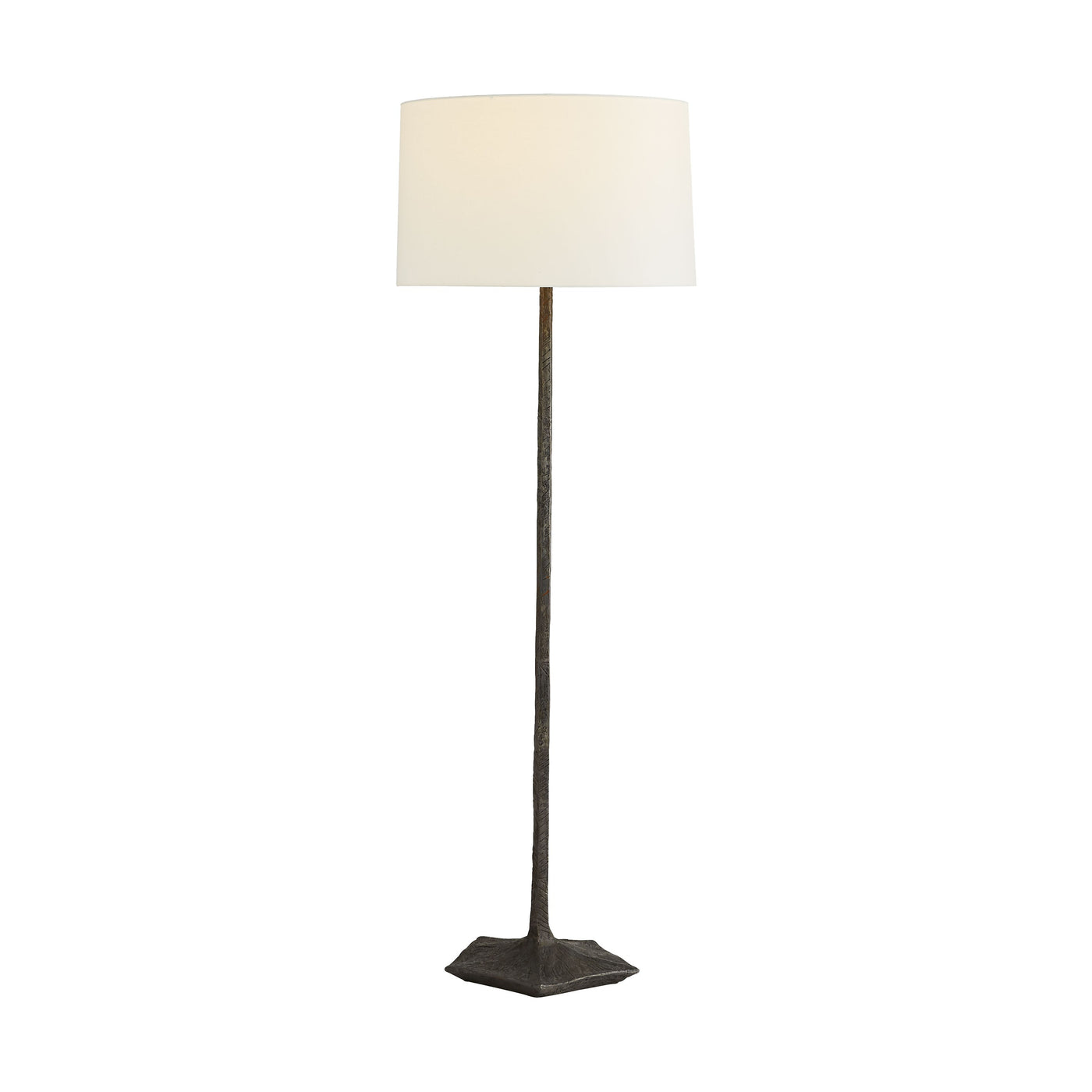 arteriors charles floor lamp illuminated