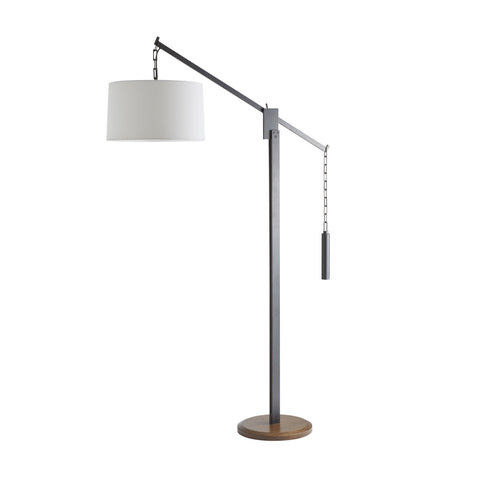 arteriors counterweight floor lamp