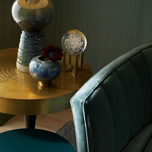 arteriors daryl side table styled