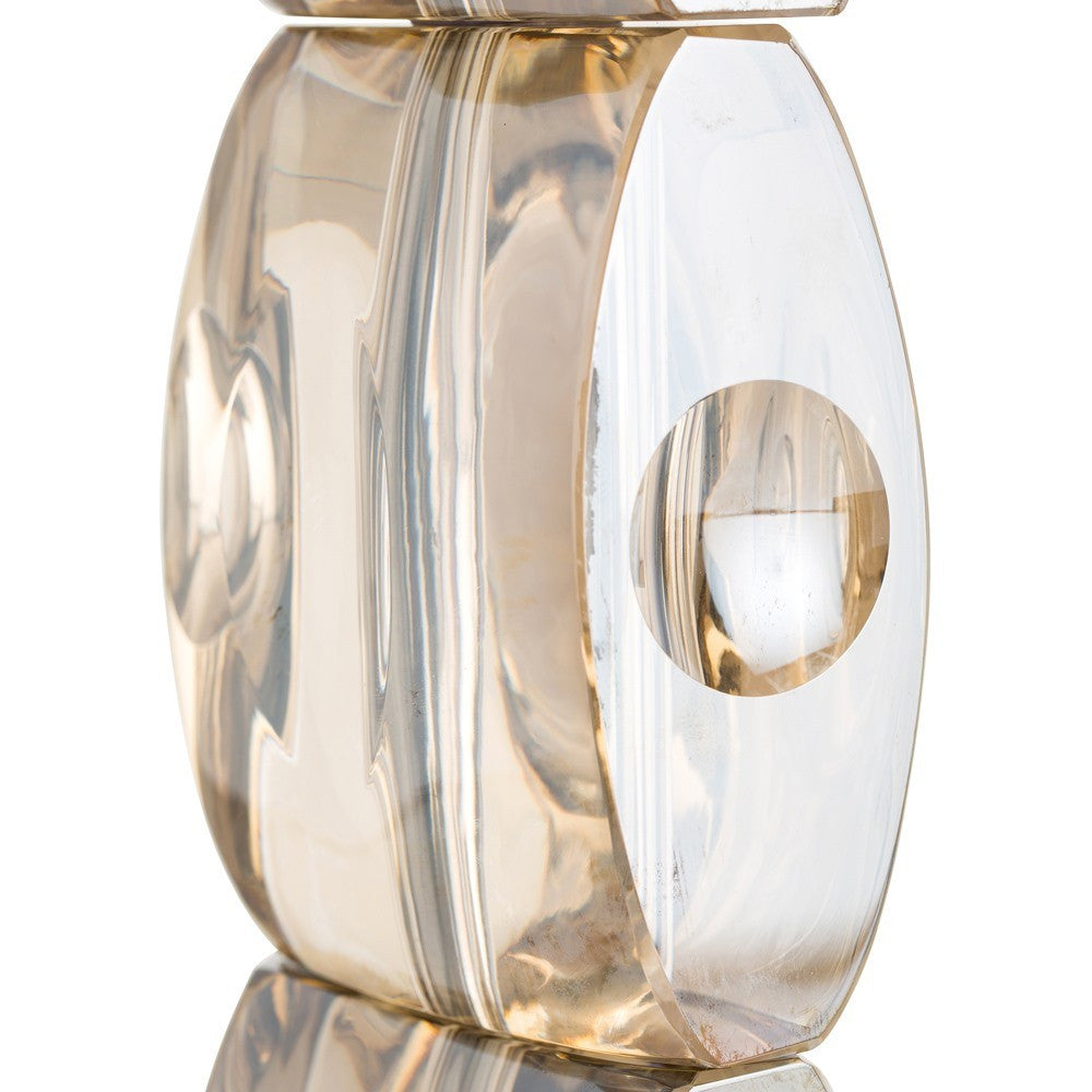 arteriors home philomena table lamp crystal brass 49945-281 base