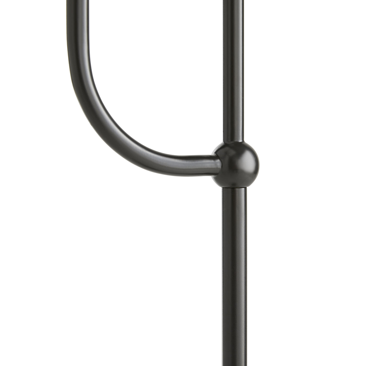 arteriors dorchester floor lamp bronze detail