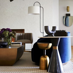 arteriors dorchester floor lamp bronze styled