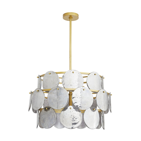 arteriors evelyn chandelier