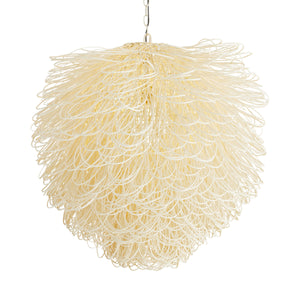 arteriors finley chandelier illuminated