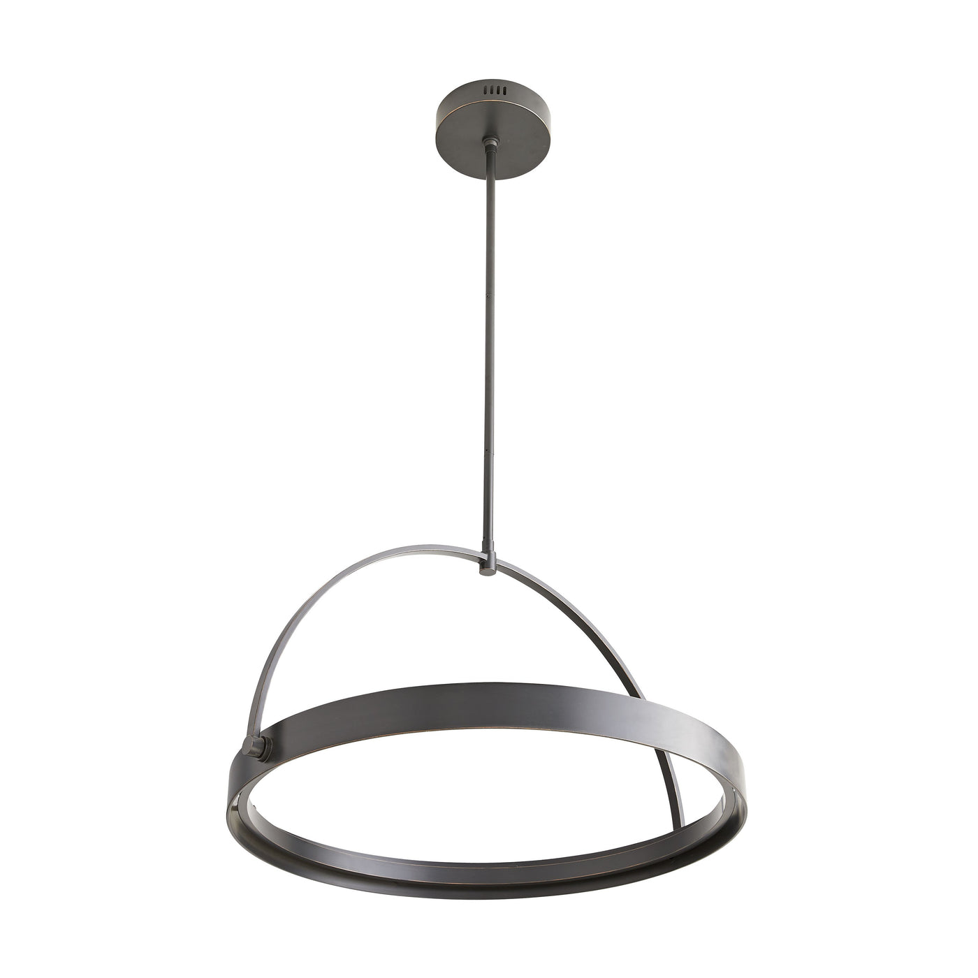 arteriors fisk pendant bronze bottom