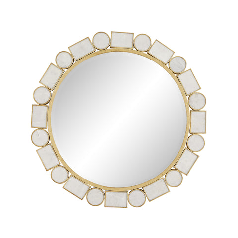 arteriors fontaine  mirror