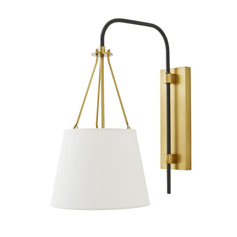 arteriors franklin sconce side view