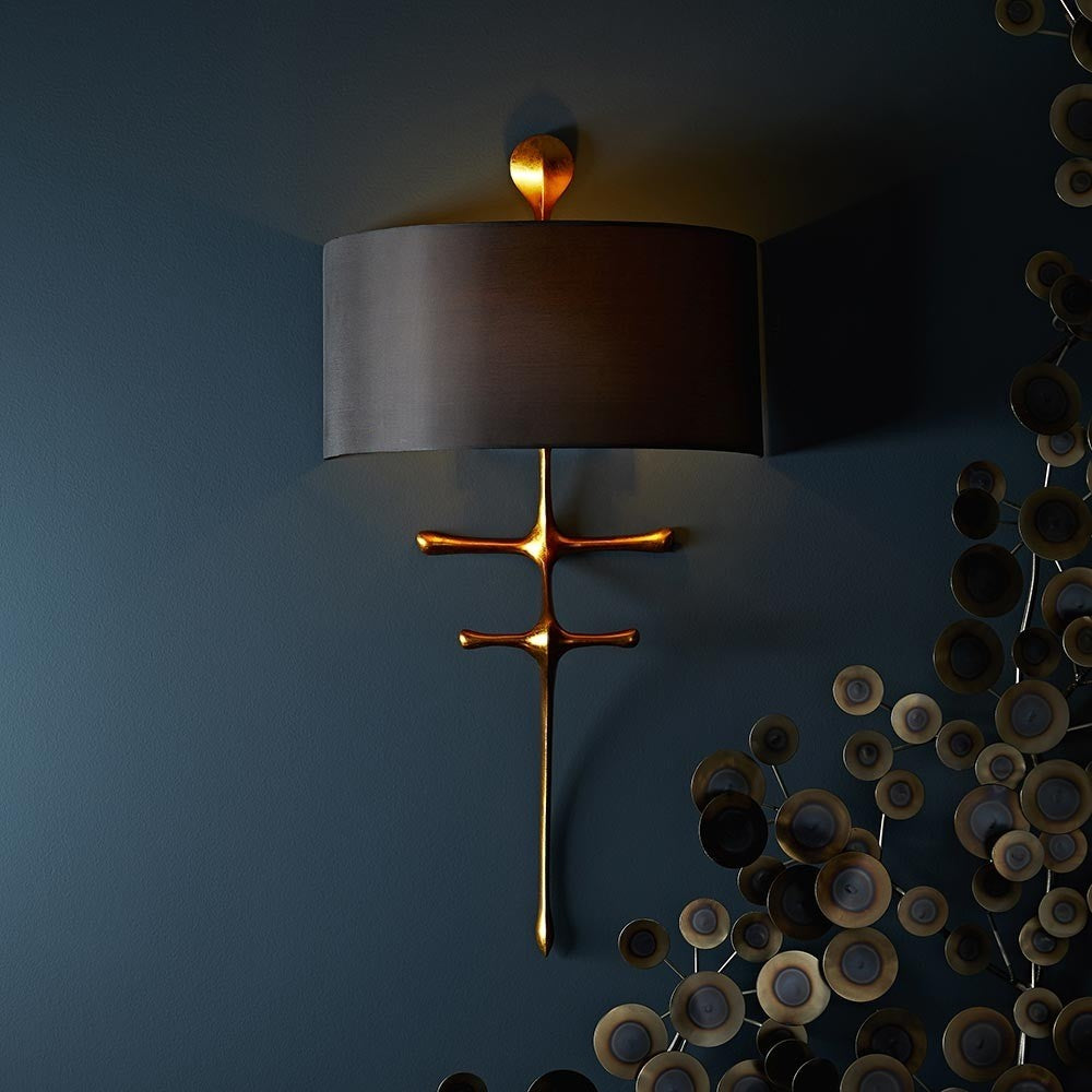 arteriors gilbert wall sconce showroo,