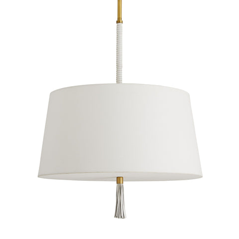 arteriors gladison pendant antique brass