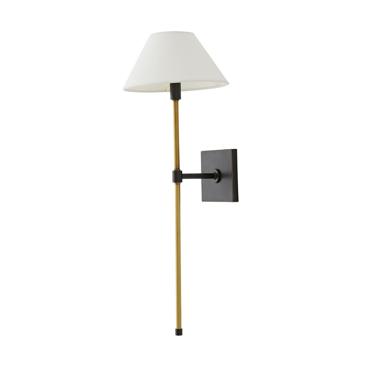 arteriors havana single sconce bronze