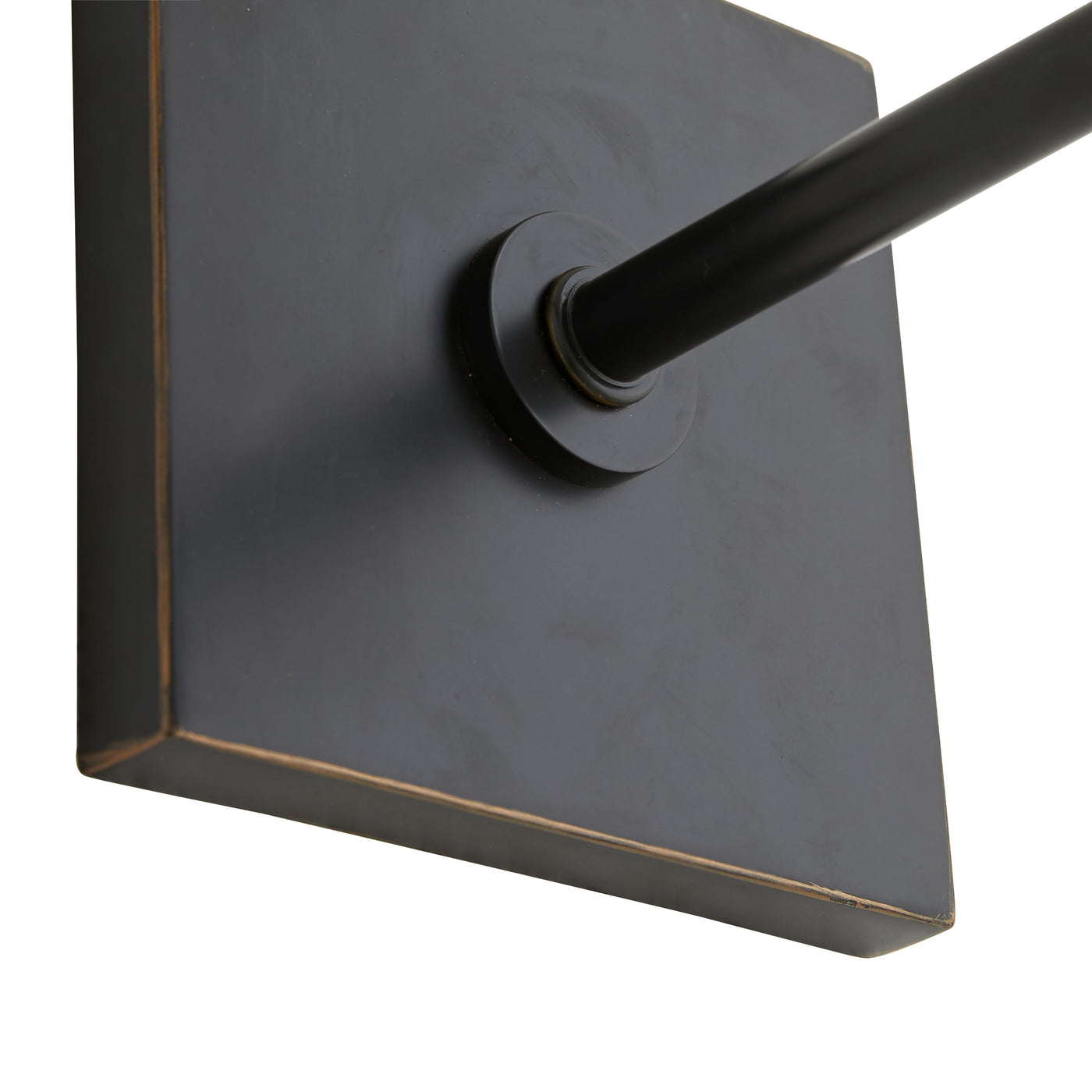 havana single sconce bronze illuminated wall mount