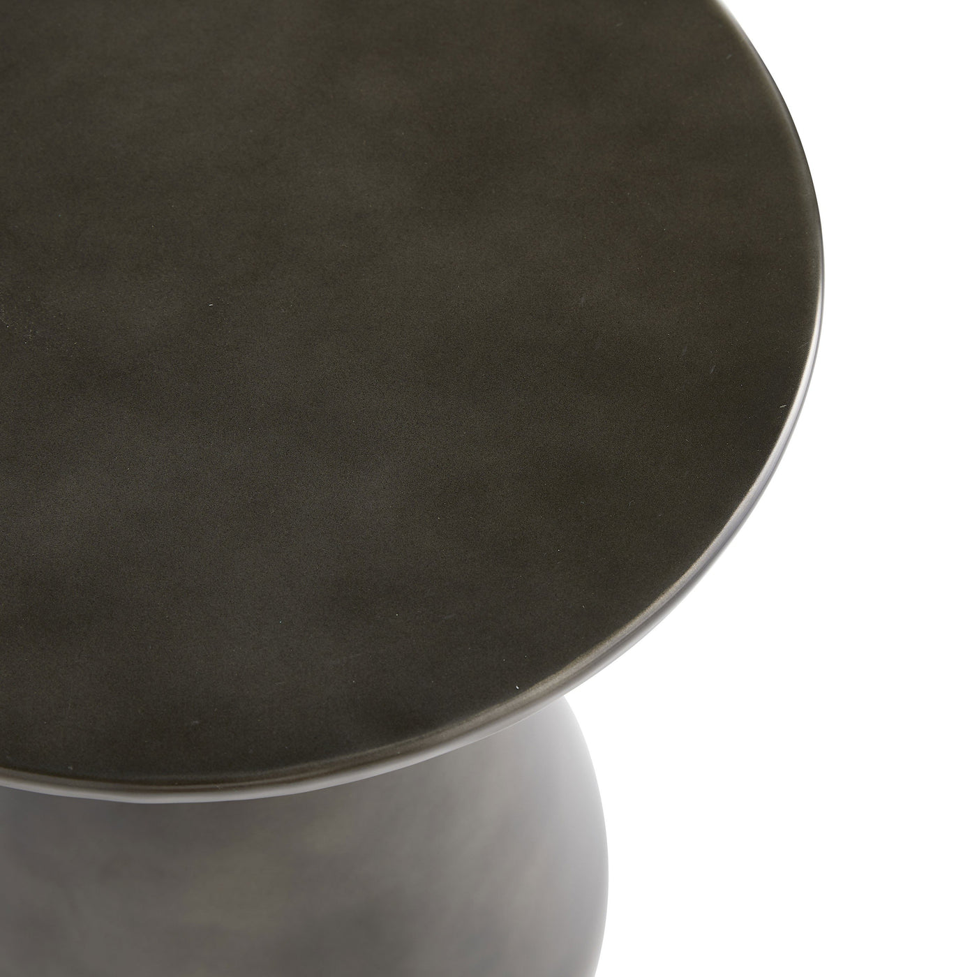 arteriors home haven accent table carbon top