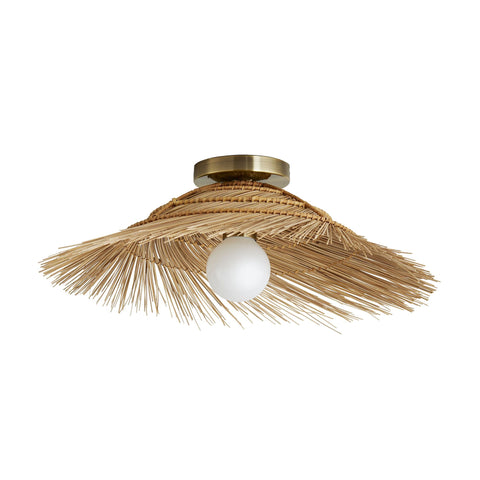 arteriors hayes ceiling mount sconce