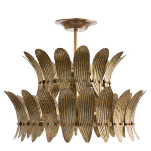 arteriors home analyze two tier chandelier