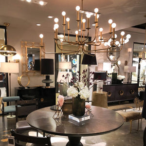 arteriors home breck chandelier styled at market