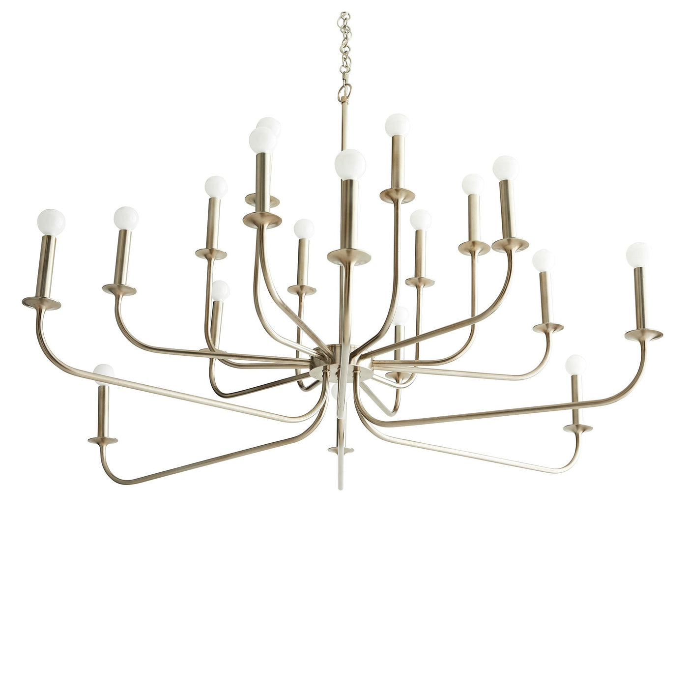 Arteriors Home Breck Large Chandelier Antique Silver Lighting