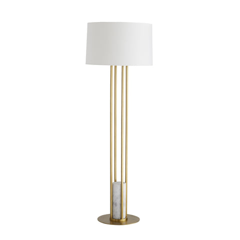 arteriors home candice floor lamp