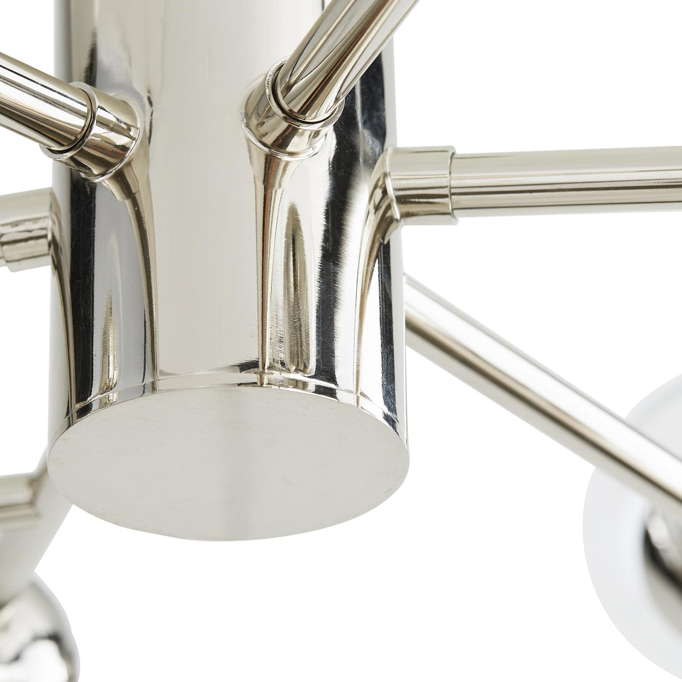 Dallas Small Chandelier Polished Nickel