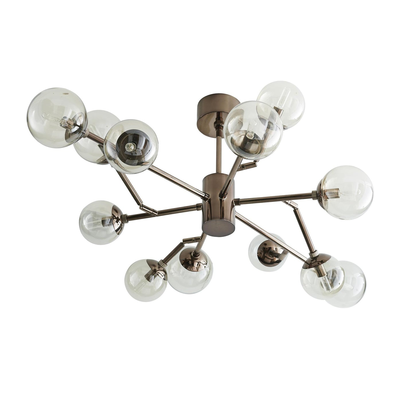 Arteriors Home Dallas Small Chandelier Brown Nickel – CLAYTON GRAY
