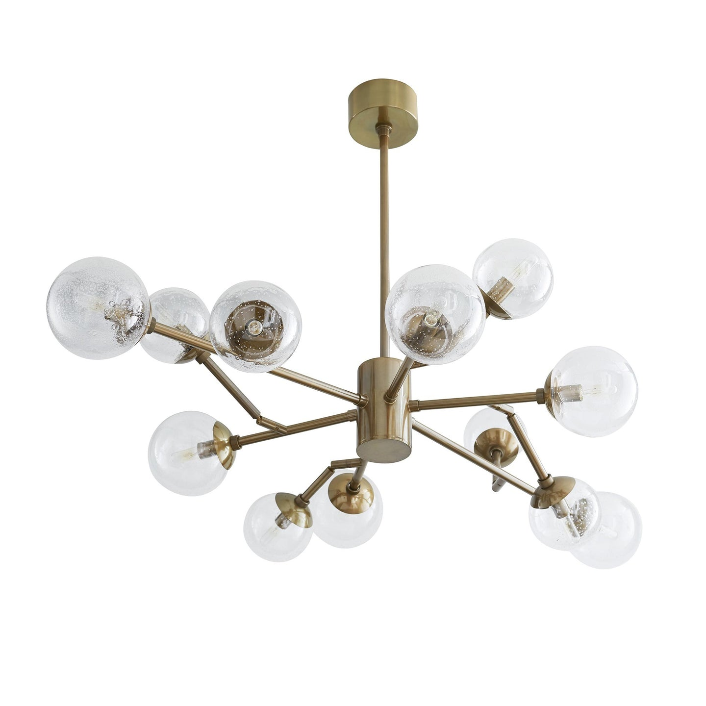 Arteriors Home Dallas Small Chandelier Vintage Brass – CLAYTON