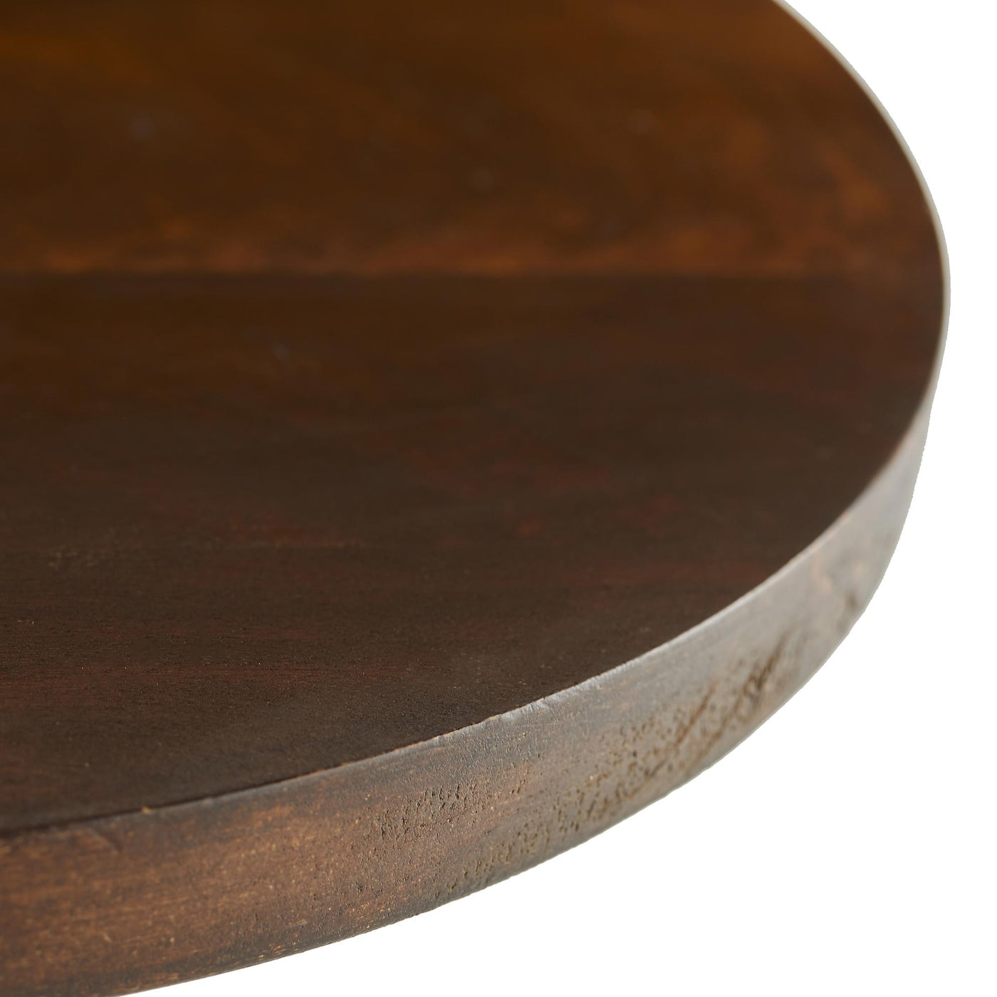 Arteriors Home Darby Accent Table Wood Round Teardrop