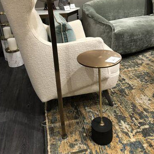 arteriors home fitz accent table styled